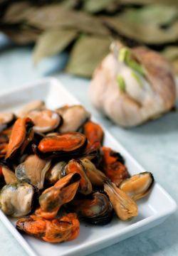 musslor utan skal recept